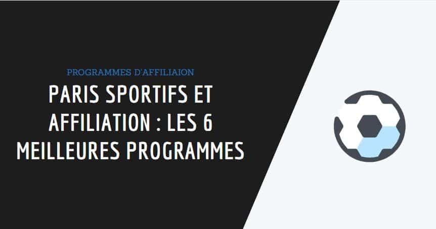 plateformes d'affiliation paris sportifs couverture