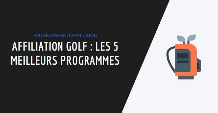 couverture article affiliation golf