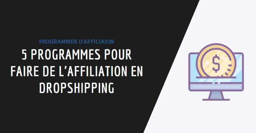 couverture affiliation dropshipping