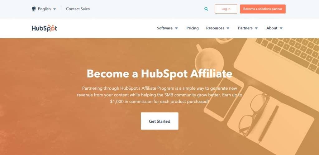 affiliation hubspot