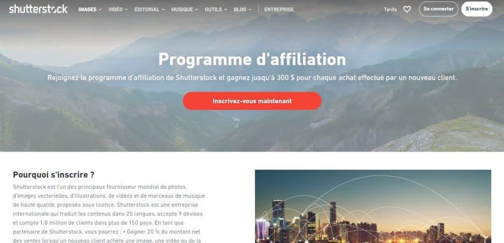 affiliation shutterstock