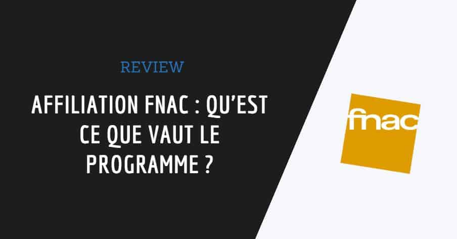affiliation fnac couverture