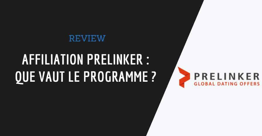 Couverture de l'article affiliation prelinker