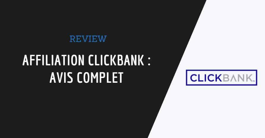 image de couverture de l'article : affiliation clickbank