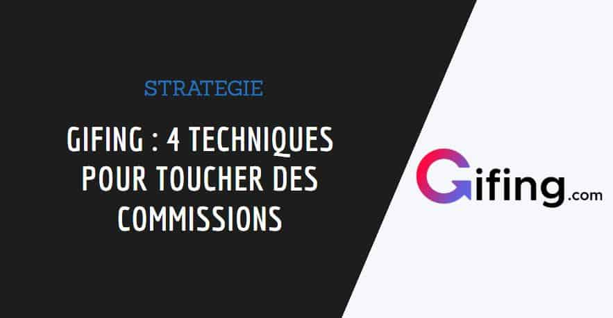 Couverture de l'article Gifing affiliation