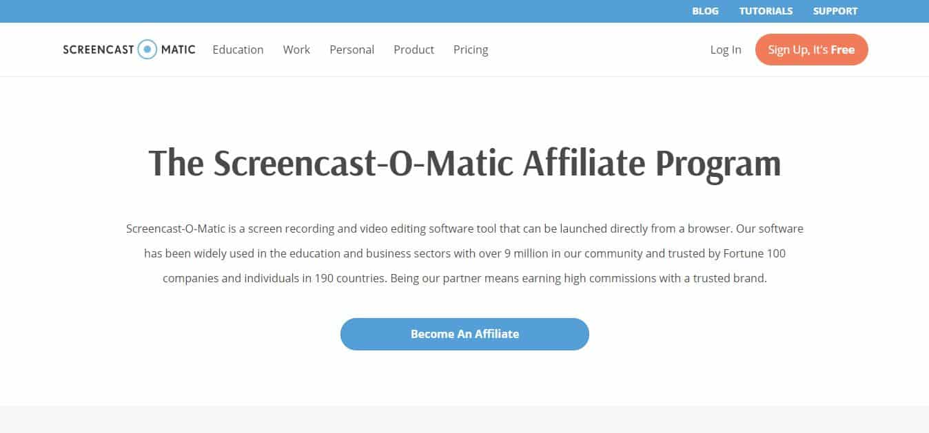 affiliation screencast-o-matic