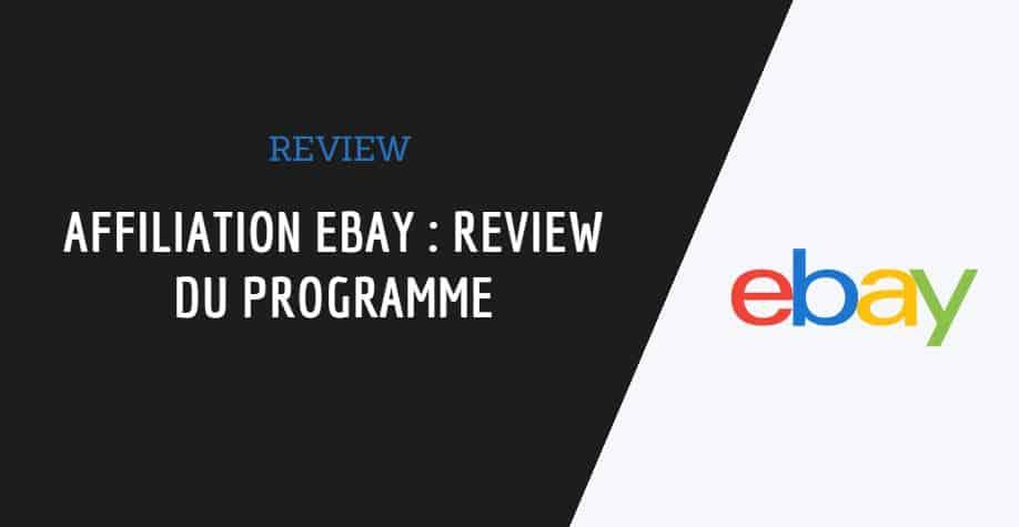 couverture de l'article affiliation ebay