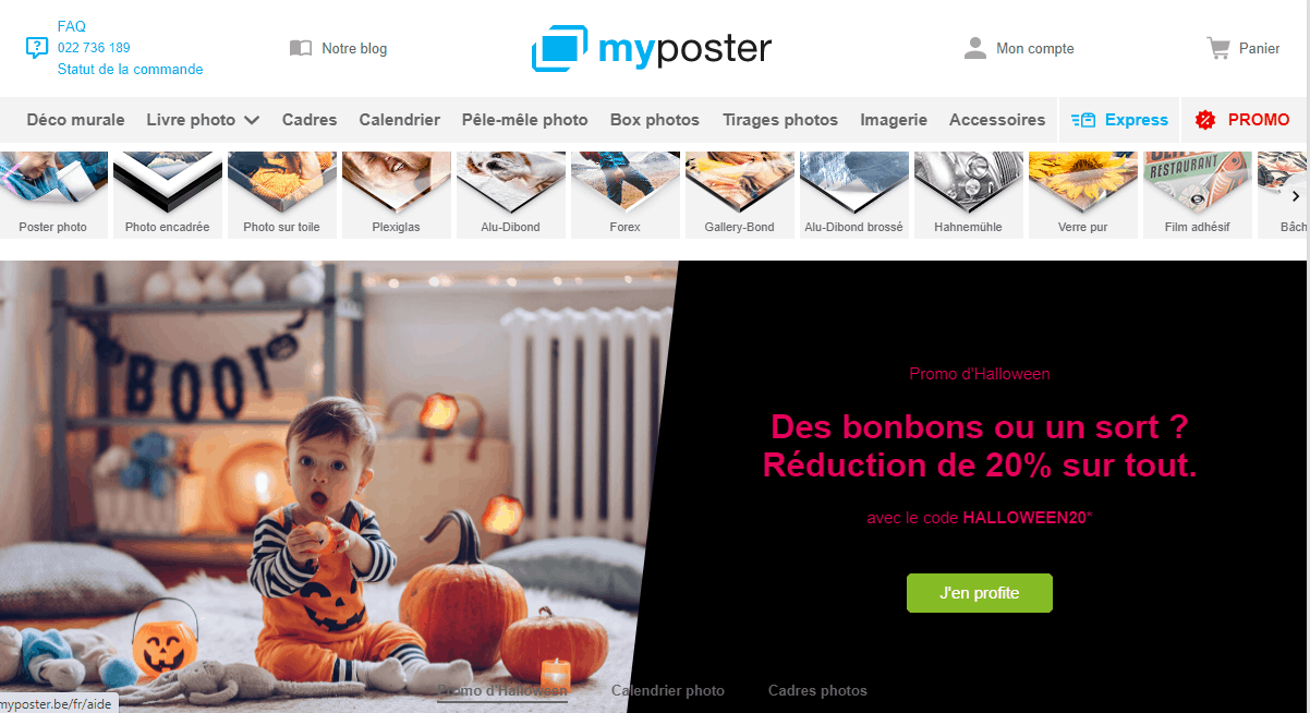Page d'accueil Myposter