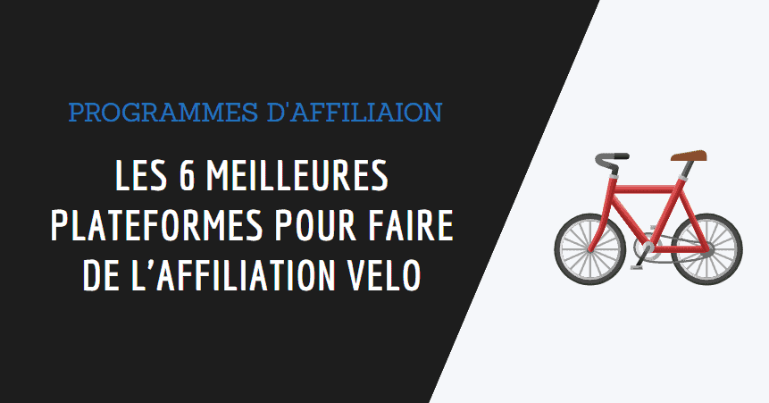affiliation vélo couverture