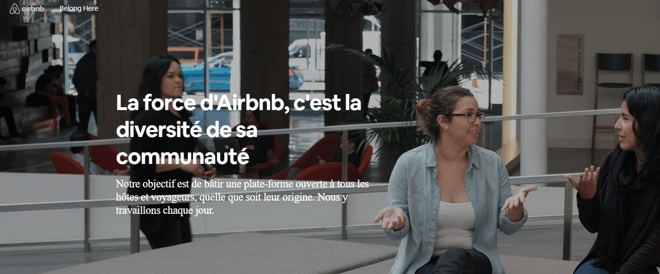 L'offre marketing d'airbnb