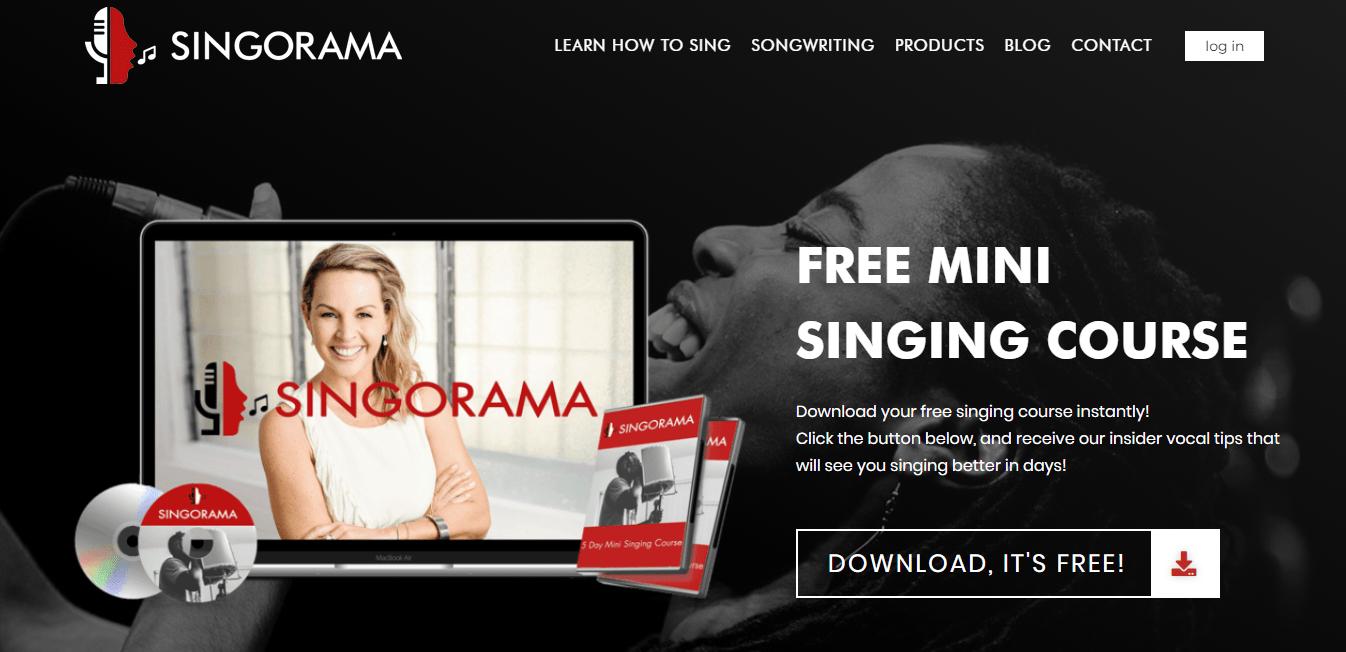 Page d'accueil Singorama