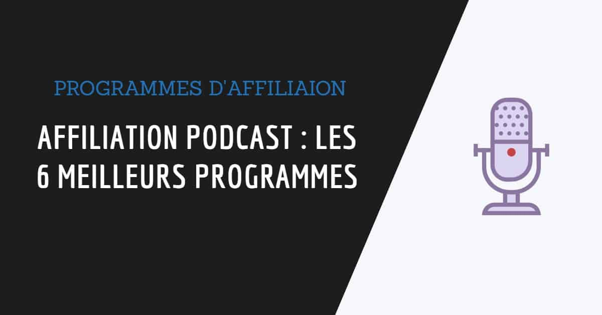 Affiliation podcast couverture