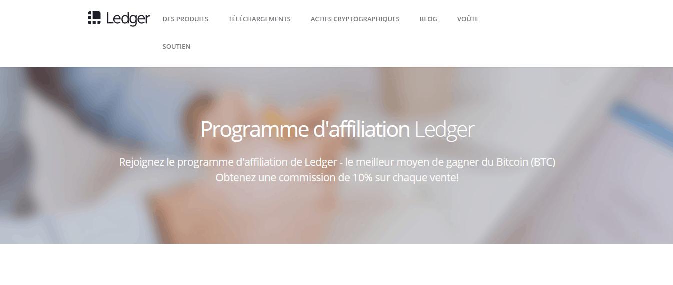 commission affiliation ledger