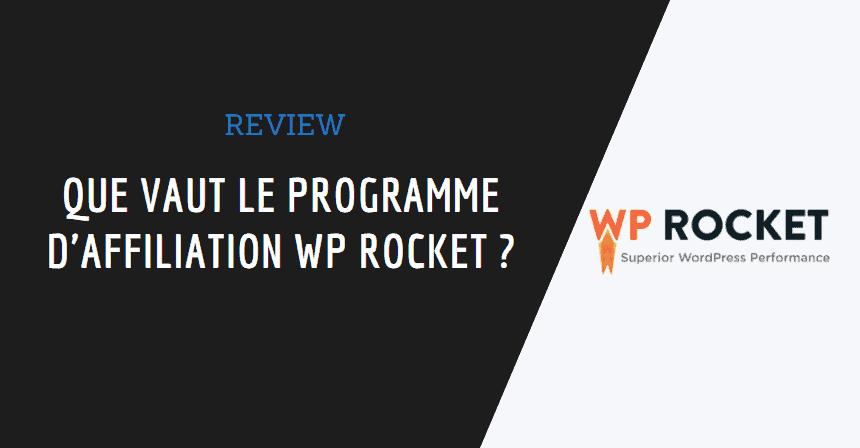 affiliation wp rocket couverture