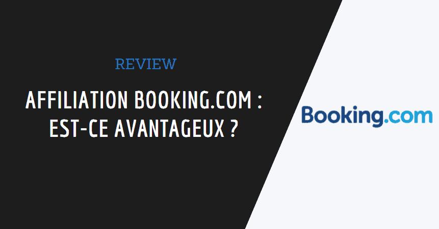 affiliation booking.com