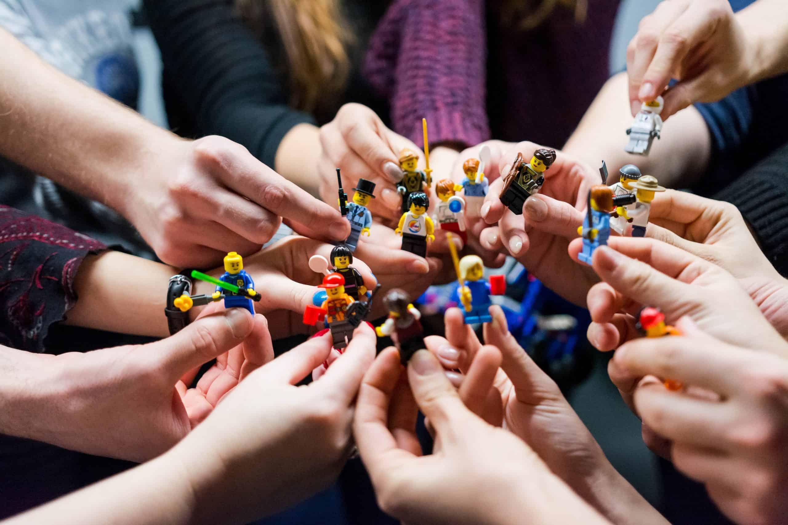 audience cible pour l'affiliation lego