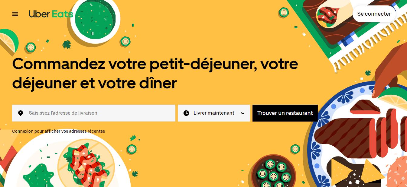 accueil uber eats