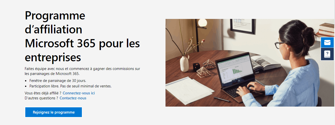 page d'accueil microsoft