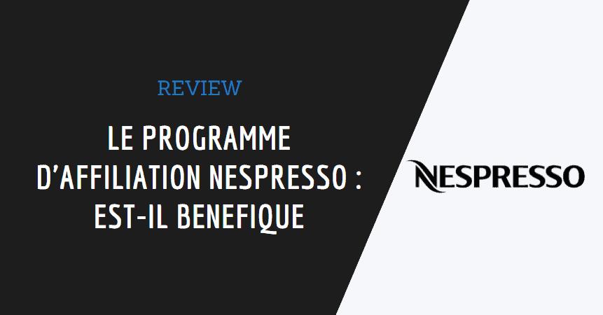 affiliation nespresso image de couverture